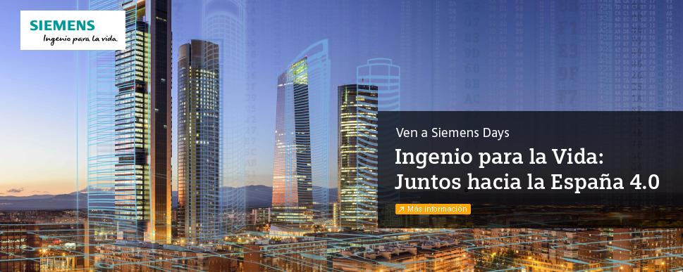 #SiemensDays #IngenioParaLaVida
