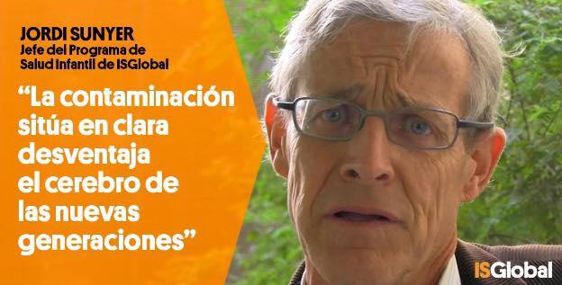 Jordi-Sunyer-la-contaminacion-afecta-a-los-niños